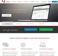 qualtrics.com screenshot
