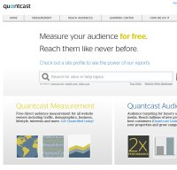 quantcast.com screenshot