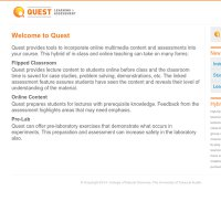 quest.cns.utexas.edu screenshot