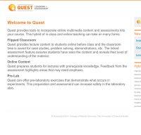 quest.cns.utexas.edu screenshot