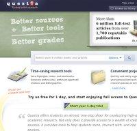 questia.com screenshot