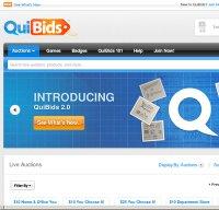 quibids.com screenshot