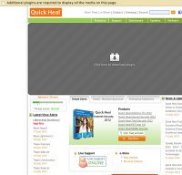 quickheal.com screenshot