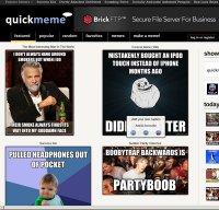 quickmeme.com screenshot