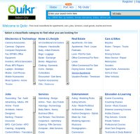 quikr.com screenshot