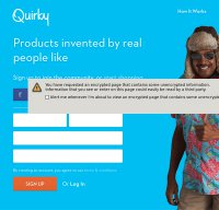 quirky.com screenshot