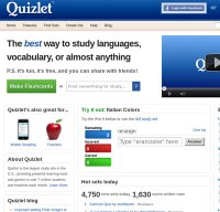 Quizlet Screnshot
