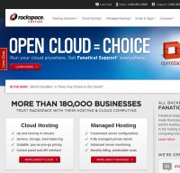 rackspace.com screenshot