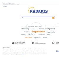 radaris.com screenshot