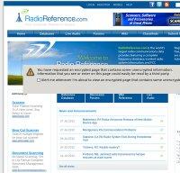 radioreference.com screenshot