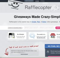 rafflecopter.com screenshot