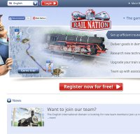 rail-nation.com screenshot
