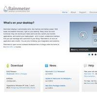 rainmeter.net screenshot