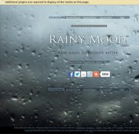 rainymood.com screenshot