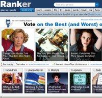 ranker.com screenshot