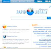 rapidlibrary.com screenshot