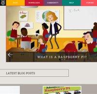 raspberrypi.org screenshot