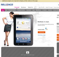 rcom.co.in screenshot