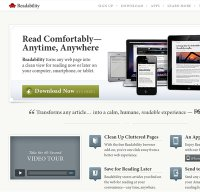 readability.com screenshot