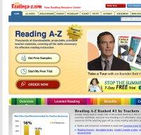 readinga-z.com screenshot