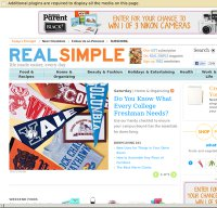 realsimple.com screenshot