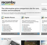 recombu.com screenshot