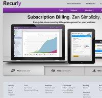 recurly.com screenshot