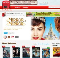 redbox.com screenshot
