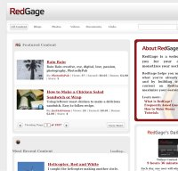 redgage.com screenshot