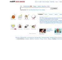 rediff.com screenshot