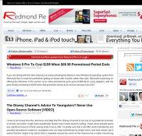 redmondpie.com screenshot