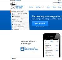 rememberthemilk.com screenshot