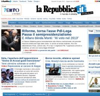 repubblica.it screenshot
