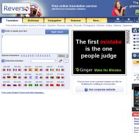 reverso.net screenshot