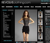 revolveclothing.com screenshot