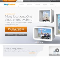 ringcentral.com screenshot