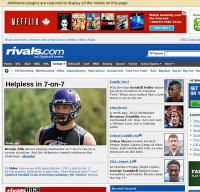 rivals.com screenshot