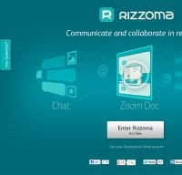 rizzoma.com screenshot