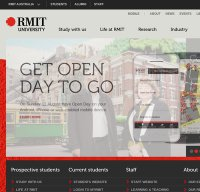 rmit.edu.au screenshot