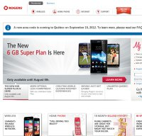 rogers.com screenshot