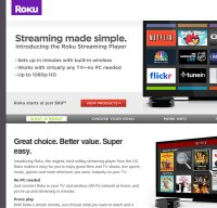 roku.com screenshot