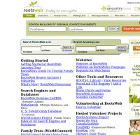 rootsweb.com screenshot