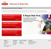 royalmail.com screenshot