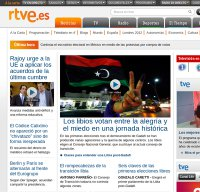 rtve.es screenshot