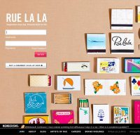 ruelala.com screenshot