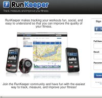 runkeeper.com screenshot
