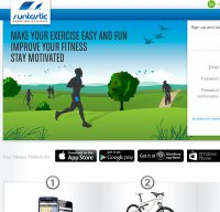 runtastic.com screenshot