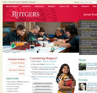 rutgers.edu screenshot