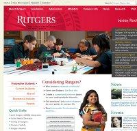 rutgers.edu screenshot