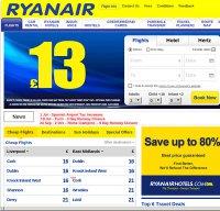 ryanair.com screenshot
